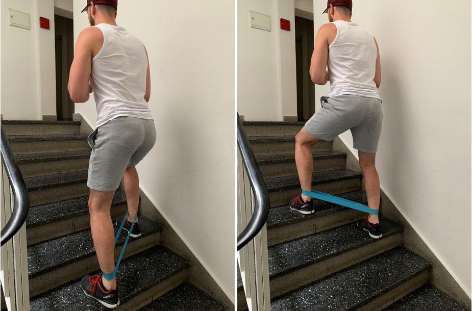 Monster walk stairs