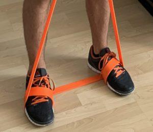 band shortening feet