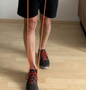 Upright Row split legs