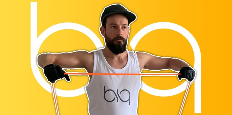 biqbandtraining lateral raises resistance band featured image
