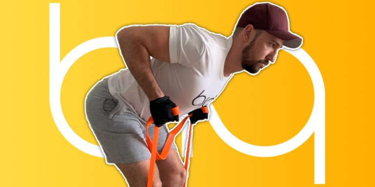 biqbandtraining bent over row resistance band featured image