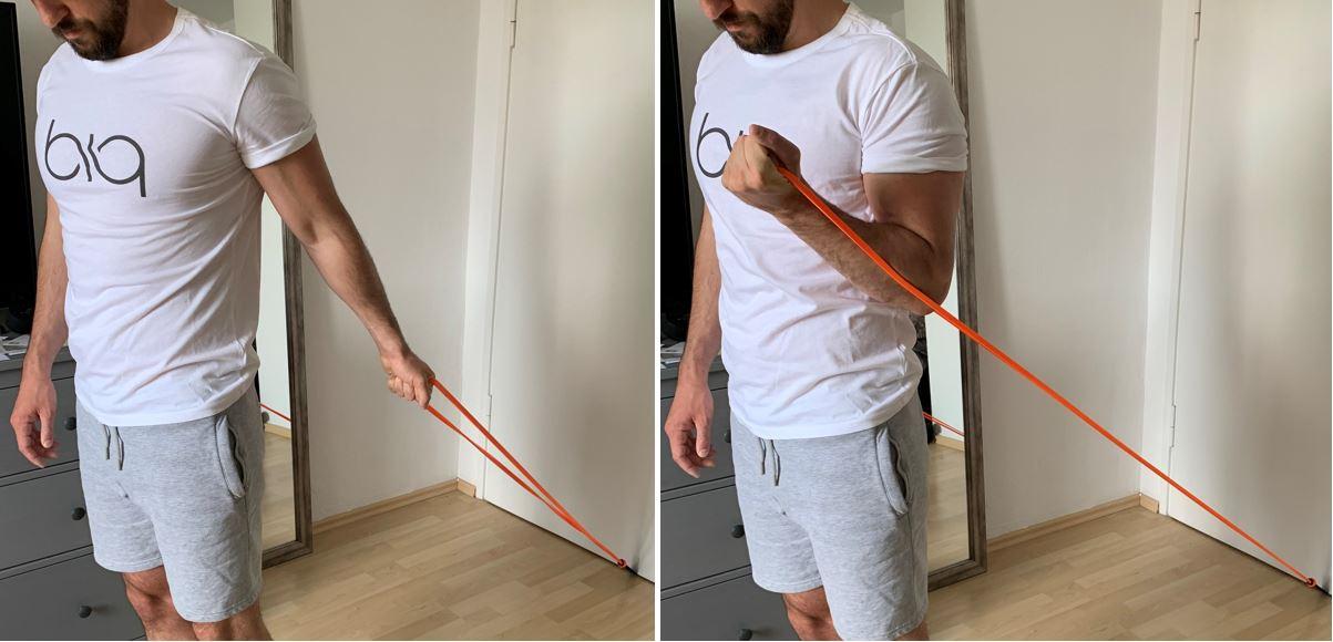 One Arm biceps Curl