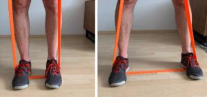 Upright Row Feet Position