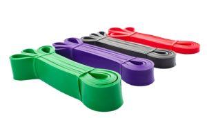 biq resistance bands product page